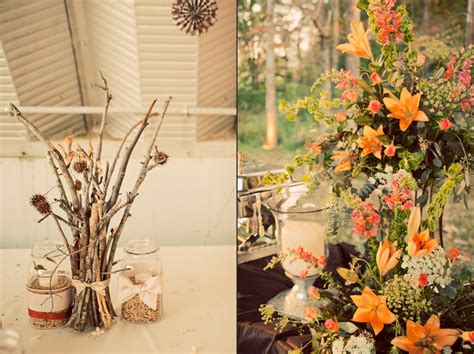 diy wedding ideas brides diy twig wedding centerpiece and