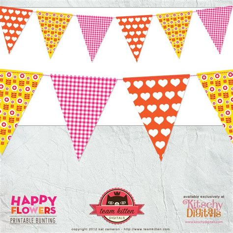 printable bunting flags 1000 images about banner printables on pinterest