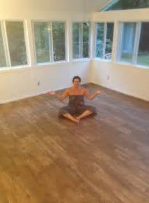 beginning   sunroom renovation flooring carpet