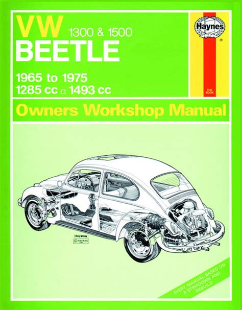 where to buy car manuals 1990 volkswagen type 2 windshield wipe control haynes owners workshop manual type 1 beetle 1300 1500cc