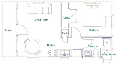 Derksen Cabin Floor Plans | derksen deluxe cabin plan joy studio design gallery
