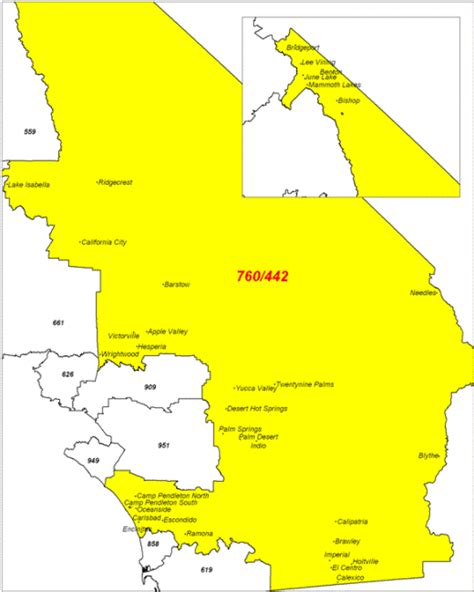 Area Code 760 Lookup Opinions On Area Codes 442 And 760