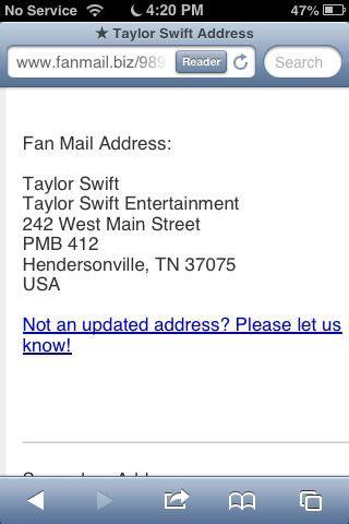 fan address fan mail address comment below if you