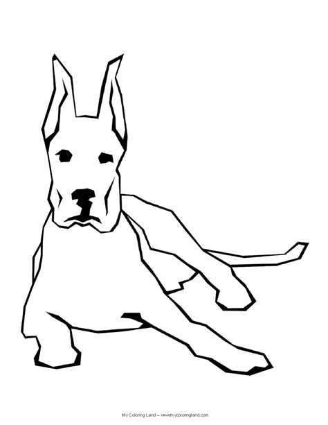black and white coloring pages of dogs my coloring land