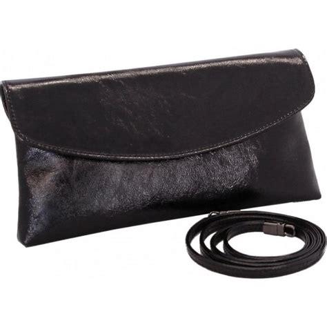 black patent clutch bag peter kaiser winema 99657 evening clutch bag in black