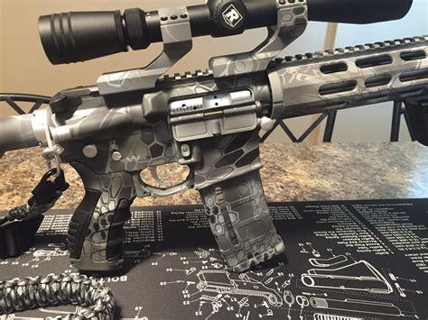 www kryptek ar 15 in kryptek raid gray toms custom guns