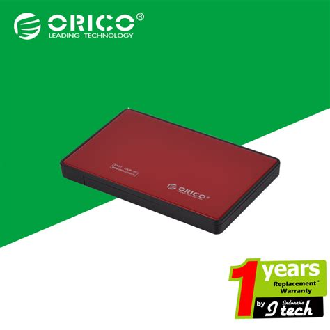 Orico 2588us3 Sv 25in Hdd Ssd Mobile Enclosure With Usb 30 jual orico 2588us3 rd 2 5in hdd ssd mobile enclosure