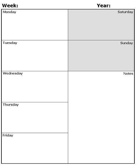 weekly calendar template pdf ipadpapers weekly diary paper templates