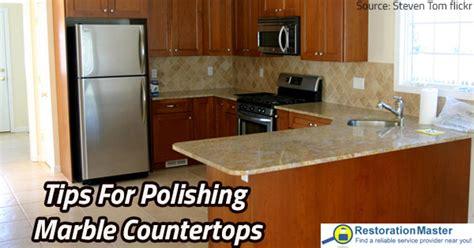 Polishing Countertops by Tips For Polishing Marble Countertops