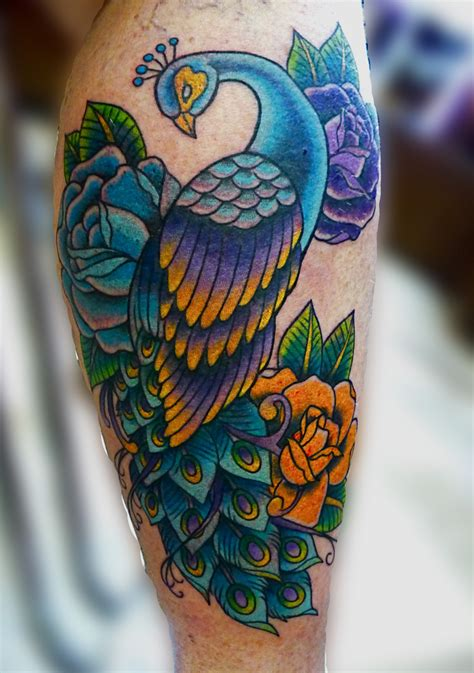 peacock thigh tattoo peacock tattoos designs ideas and meaning tattoos for you