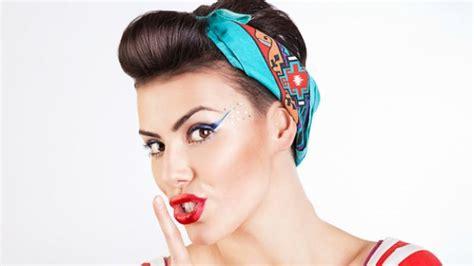 retro hairstyles with headband tutorial come fare un acconciatura da pin up con la bandana