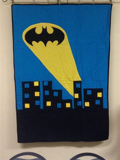 Batman Quilt Pattern by 17 Best Ideas About Batman Quilt On