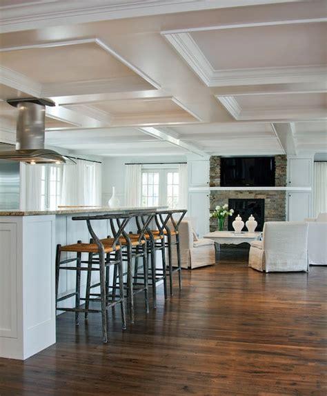 faux plafond cuisine ouverte cuisine ouverte sur le salon 9 id 233 es d