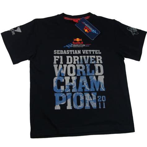 Tshirt S Vettel Driver F1 Bdc t shirt kinder formula formel 1 f1 bull vettel