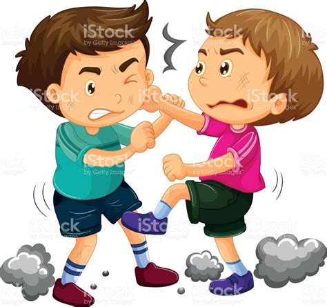 Clipart Fighting