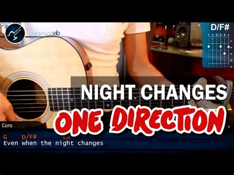 night changes guitar tutorial one direction night changes acoustic guitar cover doovi