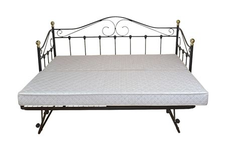 Bett 0 90x1 80 by Tagesbett Schwarz Inkl Lattenrost Einzelbett Day Bed