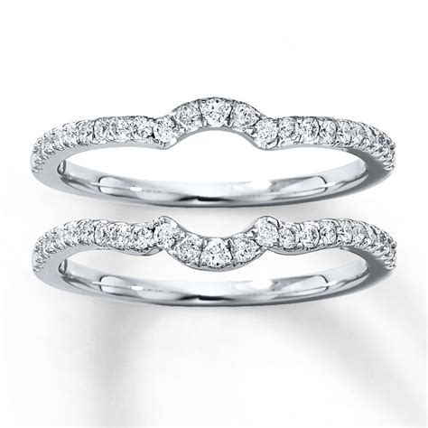 Wedding Bands Sets by Wedding Band Set 3 8 Ct Tw Cut 14k