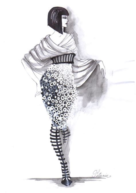 Sketches Clothes by 30 Cool Fashion Sketches Hative