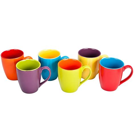 Luxury Cutlery by Bia Cordon Bleu Colored Mugs Set Of 6 Bloomingdale S