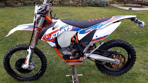 Ktm Excf 350 Sixdays Slovakia 2016 by Ktm Exc 450 Sixdays 2016 Slovakia Bike Tour Start Up
