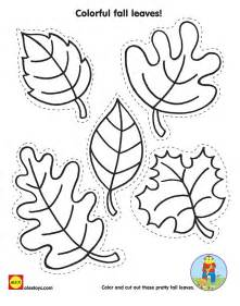 fall leaves template 5 best images of free printable fall leaves to color