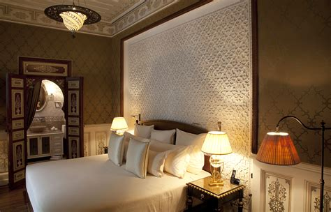 moroccan man in bed royal mansour marrakech 171 luxury hotels travelplusstyle