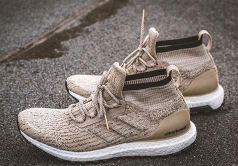Adidas Ultraboost Mid Atr Black adidas ultra boost atr mid khaki sneakernews