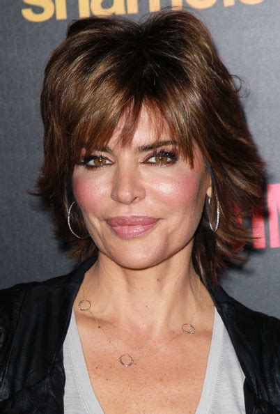 lisa rinna long layered hair more pics of lisa rinna layered razor cut 12 of 15