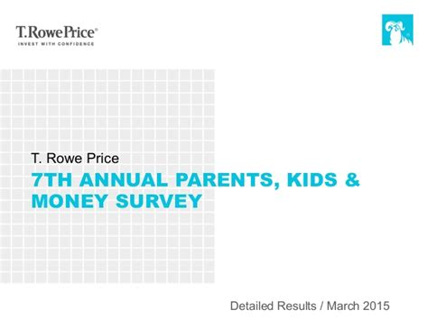 Kids Surveys For Money - 7th annual parents kids and money survey 2015