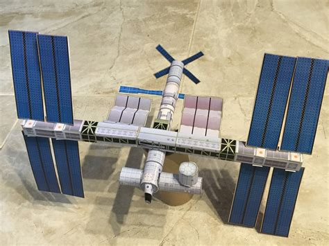 how to make space make your own international space station iss with a