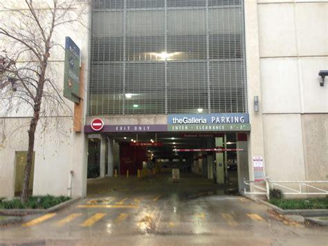 galleria red garage parking  houston parkme