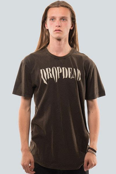 Tshirt Dropdead Ghost drop dead clothing smudge t shirt 渋谷のロックファッション 通販