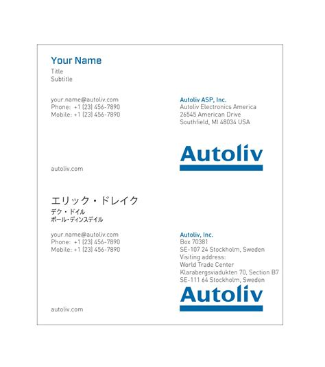 Esl Business Card Template by Business Cards Japanese Image Collections Card
