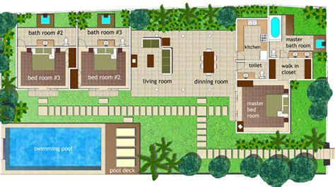 space at bali villa layout serene villa layouts www serenevilla com