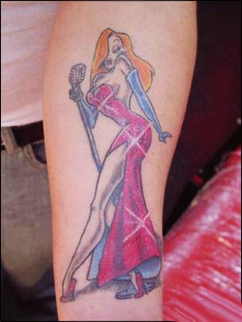 cartoon rabbit tattoo 40 famous best cartoon tattoo designs for women sheplanet