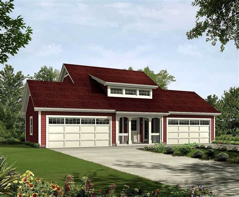 4 Car Garage Plans With Apartment by 4 Car Apartment Garage With Style 57162ha Carriage