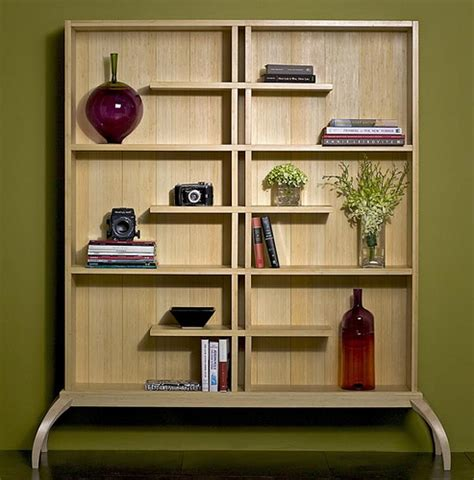 innovative wooden bookshelf design plushemisphere