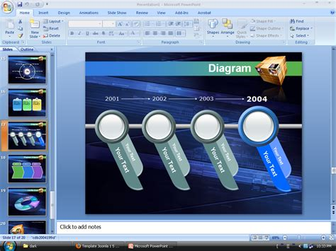 Design Template Powerpoint Keren | top search keren power point template best power point