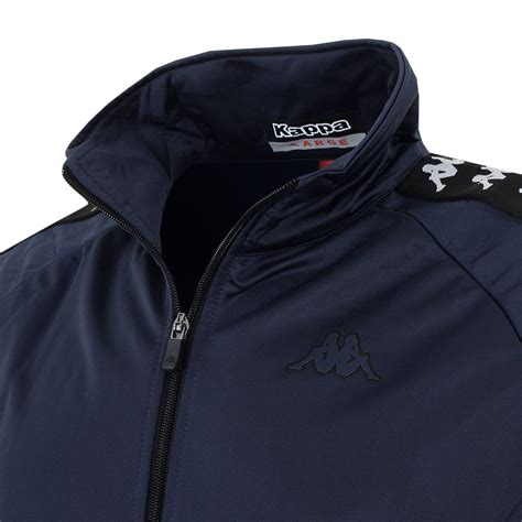 Kappa Spinel Banda Jacket Navy kappa 2016 mens top anniston zip sport banda track jacket ebay