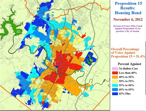 low income housing austin tx map shows precinct results for austin housing bond defeat texas housers