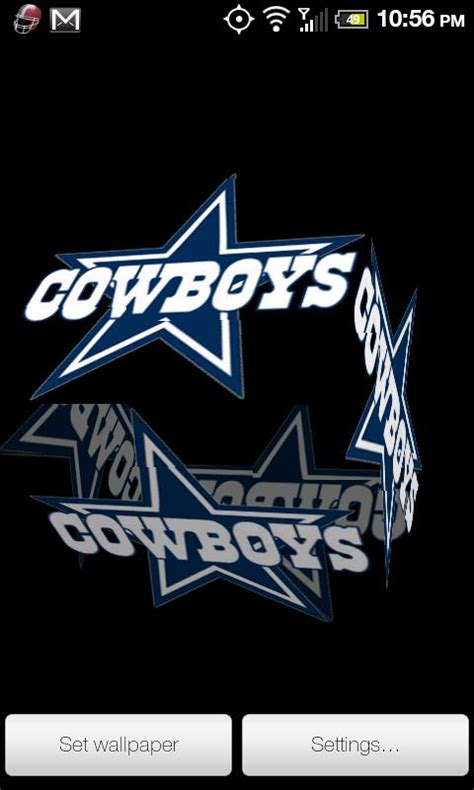 dallas cowboys live wallpaper apk cowboys live wallpaper dallas cowboys 3d live wallpaper this is a dallas cowboys