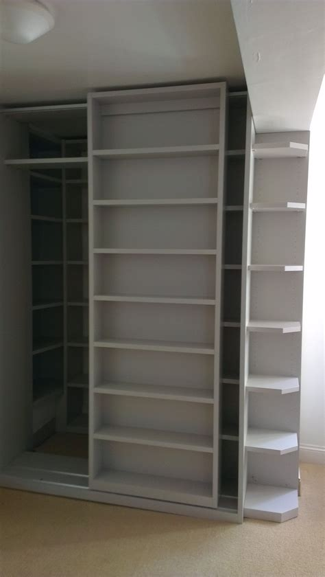 sliding bookcase with secret door wow interior design