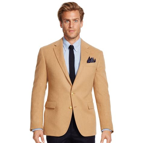 Camel Sport lyst polo ralph polo i camel hair sport coat in