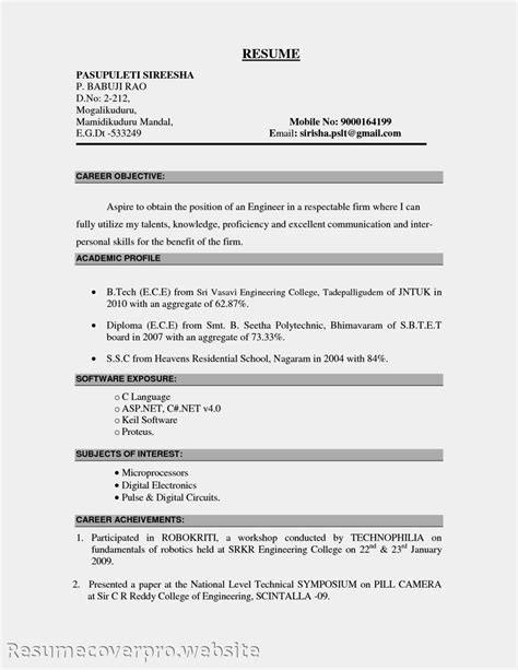 Resume Objective by Career Objectives For Resumes Exles Slebusinessresume Slebusinessresume