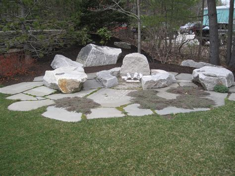 pit landscaping inspiring country landscape designs with stones pit
