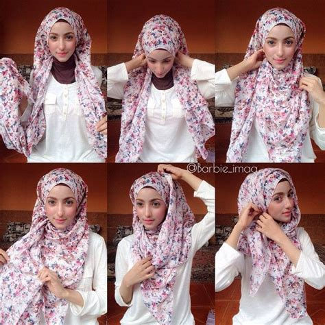 tutorial menggunakan niqab 586 best images about islam arabic hijab on pinterest