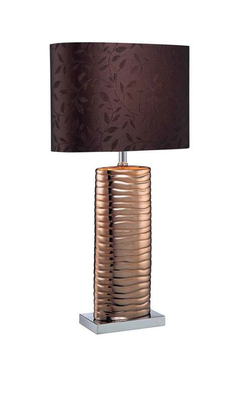 lantern style table ls melted copper table l by lite source ls 21281copper
