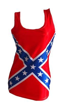 southern designs rebel flag tank top for