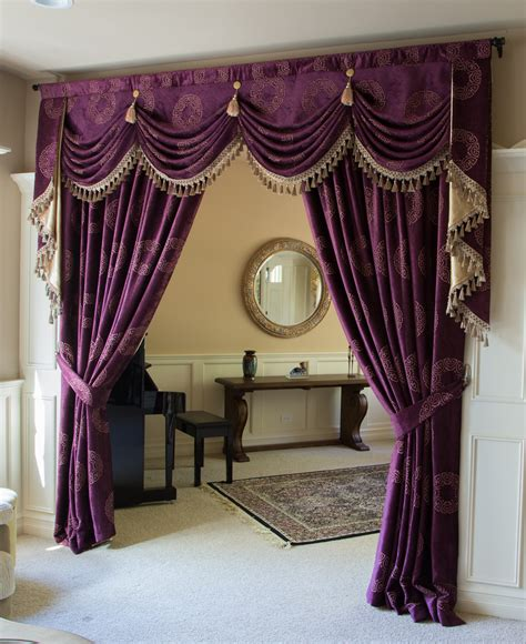 swags curtains style orchid imperial austrian swag style swag valance curtain